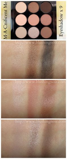 MAC M∙A∙Cnificent Me: Eye Shadow x 9 Swatches