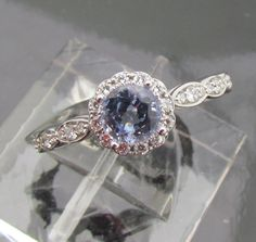light blue saphire engagement rings   PristineGemstoneJewelry posted thisto Engagement Ring Ideas 11 months ...
