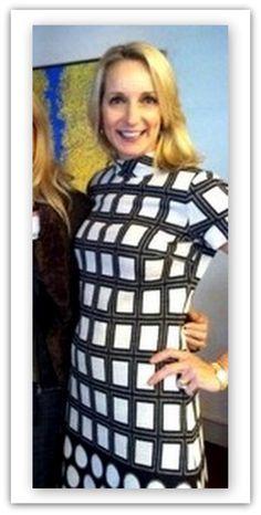 "Kristin from Texas, in the Etcetera ""Rockefeller"" dress.  www.etcetera.com"
