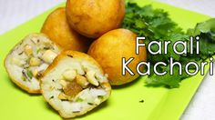 Farali Kachori / Farali Pattice   Navratri Special Fasting Recipe   Kanak's Kitchen - YouTube