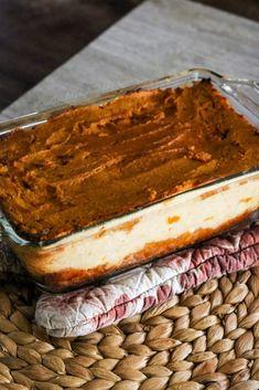 Pumpkin Cream Cake- THM S, Low Carb, Gluten Free, Sugar Free, Keto