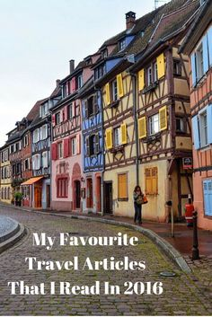 My Favourite Travel Articles That I Read In 2016