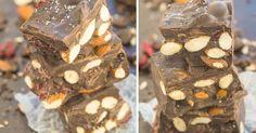 Zdravá slaná čokoláda bez cukru s mandľami do 5 minút Fit, Funguje To, Shape