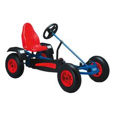 Extra AF Classic Pedal Go-kart in Blue by Berg Toys