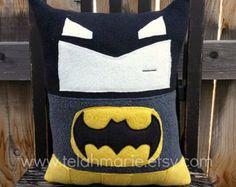 Batman pillow, plush, cushion, gift