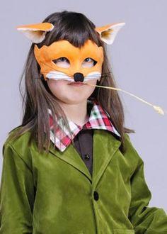 Kids Fantastic Mr Fox Style Mask