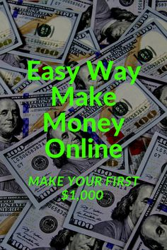 Easy work from home opportunity to make money online. Beginner friendly only 4 simple steps to get started.