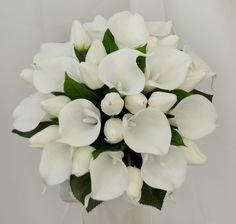Latex calla lily tulip bouquet