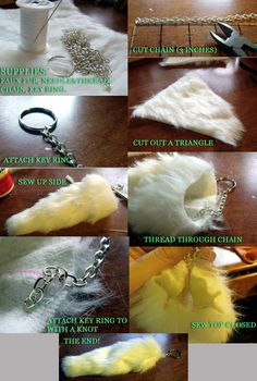 #DIY Tail Keychain