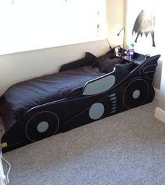 Find My DIY - DIY Batmobile Bed #homedecor #kidsroom
