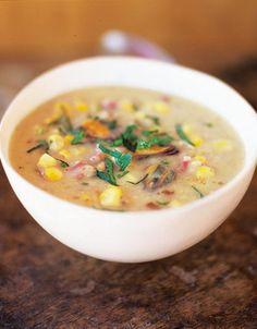 Sweetcorn & mussel chowder | Jamie Oliver | Food | Jamie Oliver (UK)