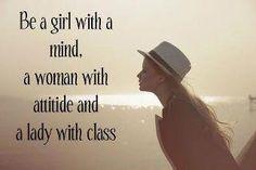 mind. attitude. class.