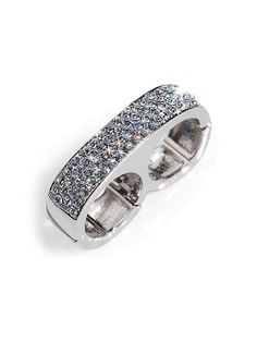 I love this Rhinestone Double Finger Ring from Frederick's of Hollywood!
