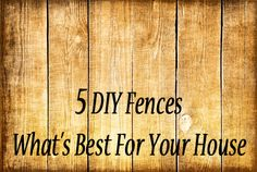 Fences are nice when you have little ones to keep them in, but everyone has different circumstances and need different things. They are really expensive, and you can save a lot of money on by doing...