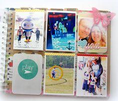 August Memory planner pages @kimjeffress @heidiswapp #heidiswapp #projectlife