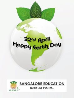 "Look deep into nature, and then you will understand everything better. ""Happy Earth Day"""