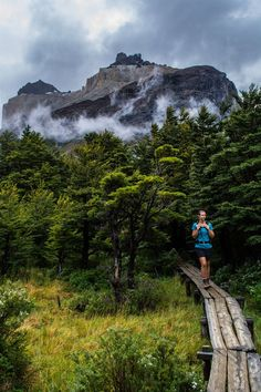 """W Trek, Torres del Paine National Park, Patagonia, Chile"""". On our way to the…"""