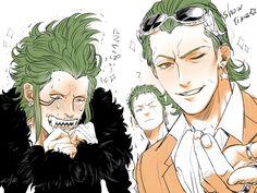 One Piece, Tesoro, Bartolomeo, Zoro