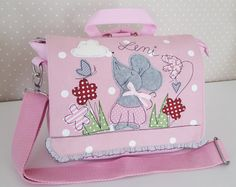 Kindergartentaschen - Kindergartenrucksack/ Kindergartentasche Maus - ein Designerstück von Feinerlei bei DaWanda