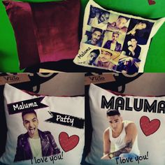 Todos quieren dormir con Maluma !!! Cojin personalizado de Maluma!!! Sorprende con un regalo genial!! $10.000 cojin terciopelo FB: Decovicio