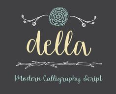 Hey, I found this really awesome Etsy listing at https://www.etsy.com/listing/239912020/della-hand-drawn-font-by-otss