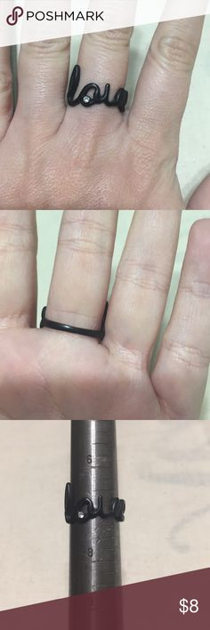 Love Ring Like new Jewelry Rings