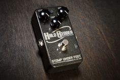 Stomp Under Foot Halo Bender Distortion from Coast Sonic
