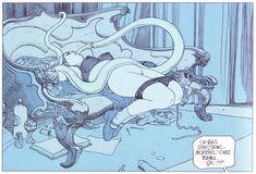 Moebius - Les jardins d'Eros