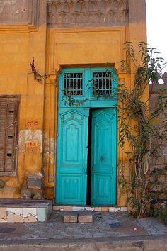 City of the Dead, Cairo. Defining colour: turquoise