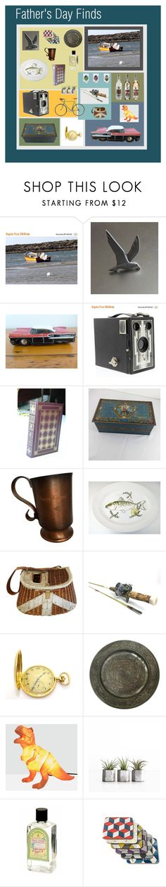 """""""Father's Day Finds"""" by anna-ragland ❤ liked on Polyvore featuring House of Disaster, Dessous, contemporary, vintage, men's fashion and menswear"""