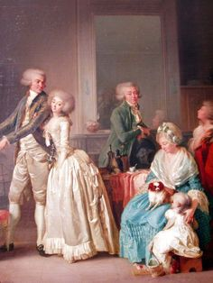 The Gohin family, 1787 by   Louis-Léopold Boilly