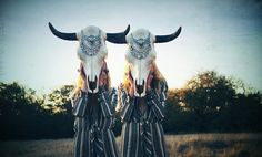 twin skulls // via spell and the gypsy collective