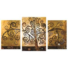 Hand Painted Canvas Abstract Oil Painting Tree Multi Panel 3 piece Canvas Wall Art Large Home Office Decoration Unframed-in Painting & Calli. Oil Painting Trees, Oil Painting Abstract, Tree Paintings, China Painting, 3 Piece Wall Art, Large Wall Art, Framed Art, Pictures For Kitchen Walls, Grand Art Mural
