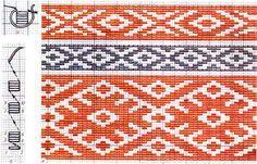 FolkCostume&Embroidery: Nyz embroidery of Eastern Podillia, Ukraine Russian Embroidery, Sashiko Embroidery, Types Of Embroidery, Japanese Embroidery, Cross Stitch Embroidery, Embroidery Patterns, Hand Embroidery, Cross Stitch Borders, Cross Stitch Designs