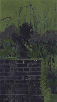 Bust of Nero, the Artist's Garden, Neuville By Walter Richard Sickert Walter Sickert, Camden Town, Impressionist Artists, Group Art, Buildings, Fox, British, Garden, Artwork