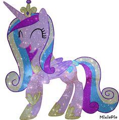 [MLP] Princess Cadence Galaxy's Power by MixiePie @deviantart