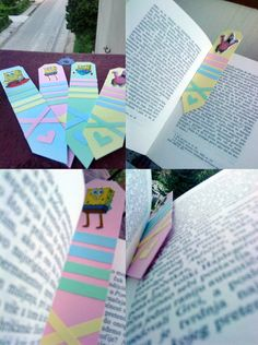 I was bored, so I took some paper and stickers.. And I got these for the books.. I am going to give them to my friends because they are returned to reading Harry Potter books again!:D I hope you like it, they are cute!:)