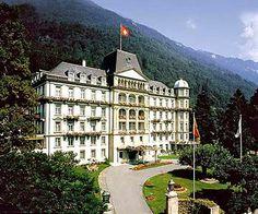 Interlaken Switzerland hotel. Lindner Grand Hotel Beau Rivage. MUST. STAY. HERE!