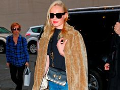 Spotted! KATE BOSWORTH with the PRADA Cahier Bag