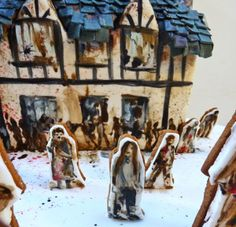 Amelie's House: Gingerdead house!