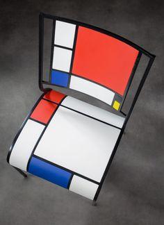 Eric Dutertre – Chaise Mondrian – L'Artillerie