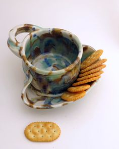 Hey, I found this really awesome Etsy listing at https://www.etsy.com/listing/68572442/soup-and-cracker-bowl-stoneware-pottery