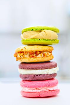 Macaroon Ice Cream Sandwiches