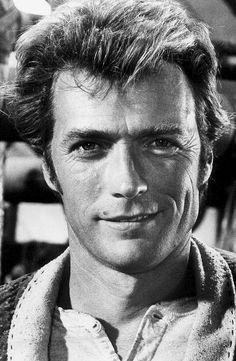 Clint Eastwood on the set of Paint Your Wagon, 1969.
