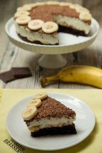Banánovo-tvarohová tortička bez múky