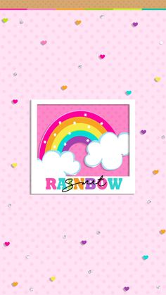 Summer Wallpaper, Glitter Wallpaper, Wallpaper Backgrounds, App Background, Rainbow Background, Cute Wallpapers, Iphone Wallpapers, Hello Kitty Wallpaper, Kawaii