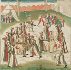 German 16th Century  Outdoor Games, c. 1515  Rosenwald Collection  1964.8.1762  Open Access