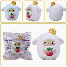 Yumeno Squishy Dreamy Sheep Slow Rising Scented Original Packaging Collection Gift Decor Toy