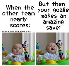 Totally me--- Especially when you are a defender.. your just like shoot I am dead