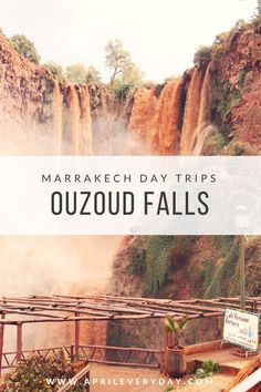 Top Things to do in Marrakech - Take a day out of the city to visit the Ouzoud Falls!